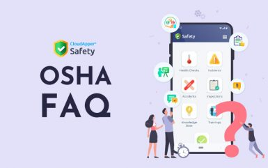 OSHA Recordkeeping FAQ and Safety App