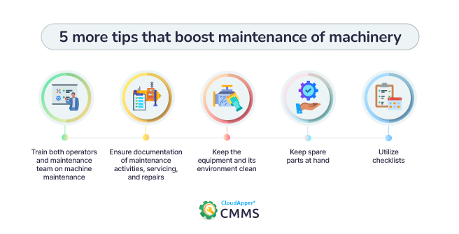 5-tips-for-machinery-maintenance-CloudApper-CMMS