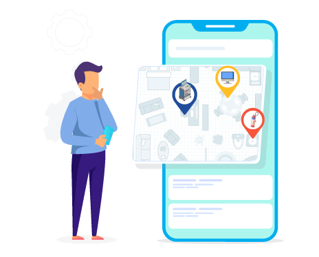 cloudapper-mobile-app-preview-layout-map-feature-on-cmms-software