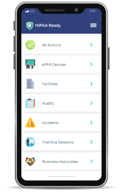 hipaa-ready-compliance-management-software-mobile-application-dashboard